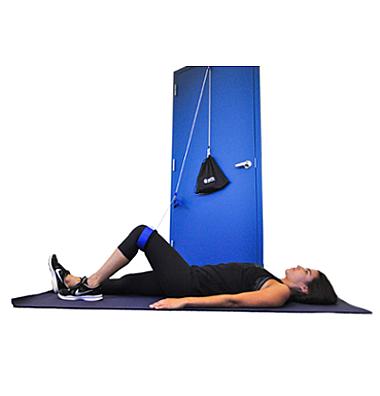 Supine Hip External Rotation
