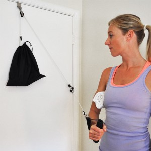 Qtek Products TheraPulley Fitness and Health Gym in a Bag Pulley System