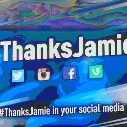 Thanks Jamie!